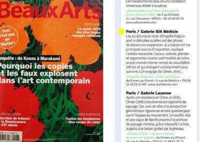 Beaux-Arts Magazine N°417