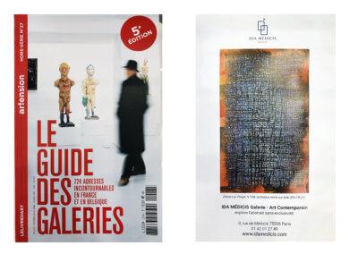 Artension HS N°27 - Guide des Galeries 2019-2020